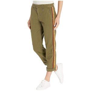 🆕 Joe's Jeans Ankle Velvet Trousers Dark Olive